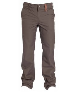 Holden Mountain Chino Skinny Snowboard Pants Flint