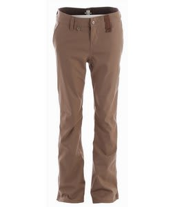 Holden Mountain Chino Skinny Snowboard Pants Dark Khaki