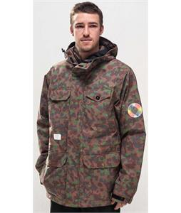 Holden Outdoorman Snowboard Jacket Camo