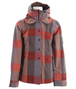 Holden Poppy Snowboard Jacket Blue Plaid