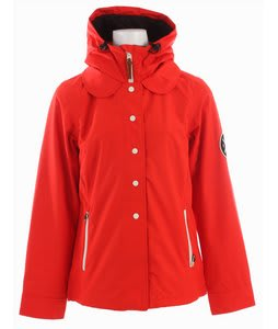 Holden Poppy Snowboard Jacket Cardinal Red