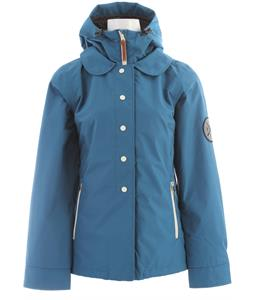 Holden Poppy Snowboard Jacket Pacific Blue