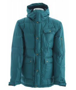 Holden Puffy Down Snowboard Jacket Emerald