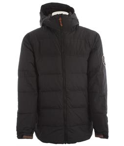 Holden Puffy Down Snowboard Jacket Black