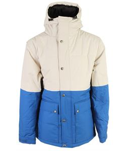 Holden Puffy Woods Snowboard Jacket Bone/Classic Blue