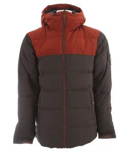 Holden Puffy Down Snowboard Jacket Flint/Burnt Henna