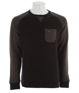 Holden Quick Dry Crew Fleece Black/Black