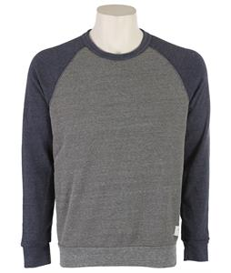 Holden Raglan Crew Sweatshirt Grey/Navy