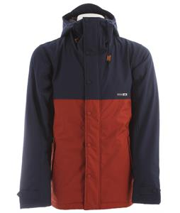 Holden Refuge Snowboard Jacket Navy/Burnt Henna