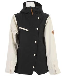 Holden Rydell Snowboard Jacket Black/Bone
