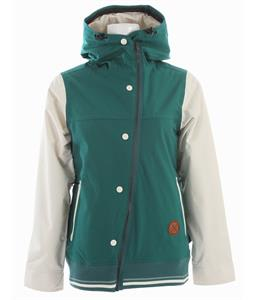 Holden Rydell Snowboard Jacket Emerald/Bone