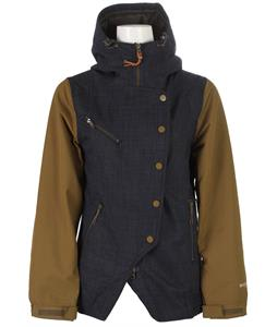 Holden Rydell Snowboard Jacket Peacoat/Olive
