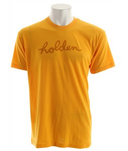 Holden Script T-Shirt Gold