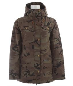 Holden Shelter Snowboard Jacket Camo