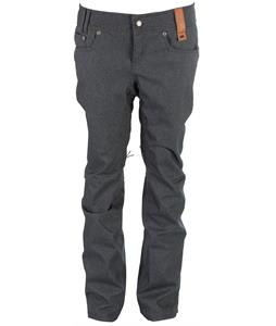 Holden Skinny Denim Snowboard Pants Dark Blue Denim