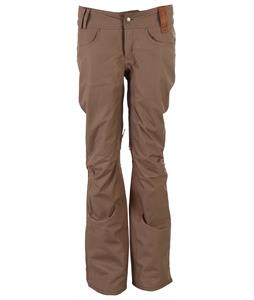 Holden Skinny Standard Snowboard Pants Dark Khaki