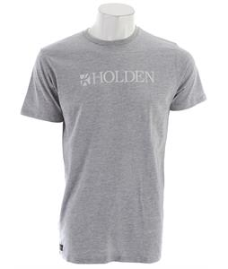 Holden This Shirt Helps Slug T-Shirt Heather Grey