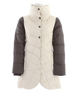 Holden Sophia Down Parka Jacket Bone/Flint