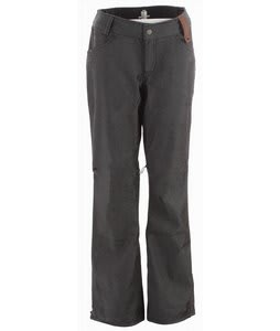 Holden Standard Denim Snowboard Pants Black
