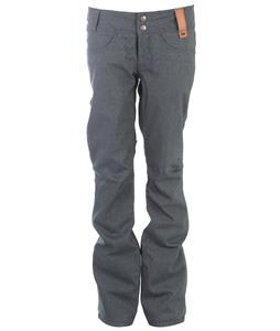Holden Standard Denim Skinny Snowboard Pants Dk Blue