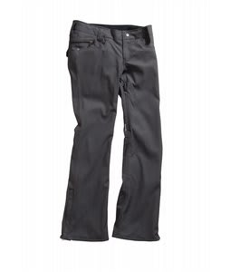 Holden Standard Denim Skinny Snowboard Pants Black