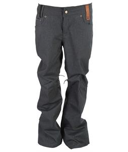 Holden Stretch Denim Snowboard Pants Dark Blue Denim