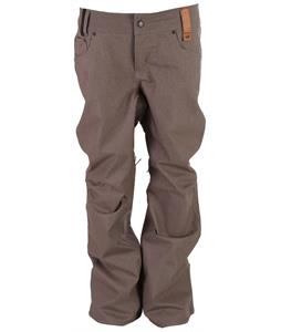 Holden Stretch Denim Snowboard Pants Grey Denim