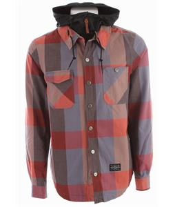 Holden Tarquin Snowboard Jacket Blue Plaid/Black Hood