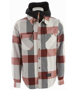 Holden Tarquin Snowboard Jacket Bone Plaid/Black Hood