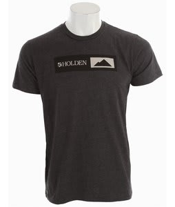 Holden This Shirt Helps Summit T-Shirt Charcoal Grey