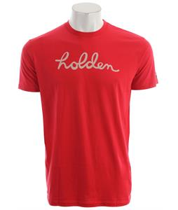 Holden This Shirt Helps Script T-Shirt Red