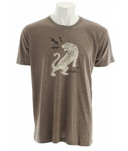 Holden Tiger T-Shirt Tri Coffee