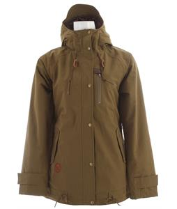 Holden Tula Snowboard Jacket Olive