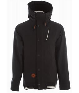Holden Varsity Snowboard Jacket Black/Black