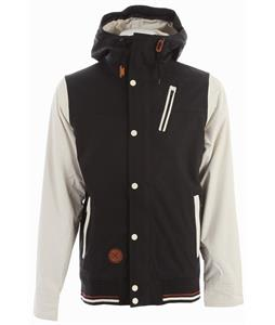 Holden Varsity Snowboard Jacket Black/Bone