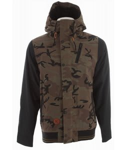 Holden Varsity Snowboard Jacket Camo/Black