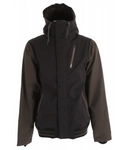 Holden Varsity Snowboard Jacket Black/Flint
