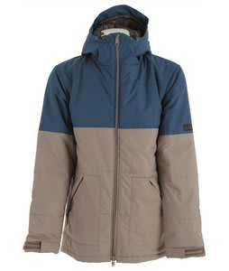 Holden Woods Snowboard Jacket Thunderstorm Blue/Dark Khaki