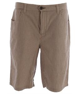 Horny Toad Seersucka Shorts Buckskin