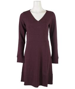 Horny Toad Finlay Dress Dark Plum