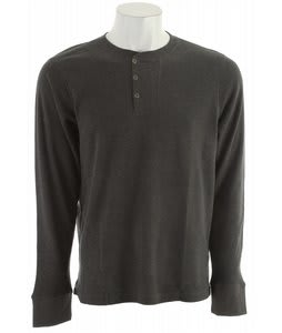 Horny Toad Framer Henley Charcoal