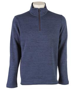 Horny Toad Override 1/4 Zip Fleece Dark Blue