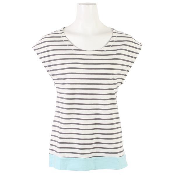 Toad & Co Slubstripe Cap T-Shirt