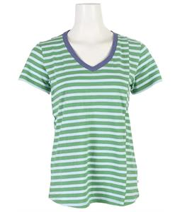 Toad & Co Slubstripe V-Neck