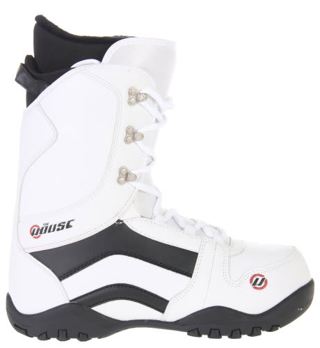 House Transition Snowboard Boots White