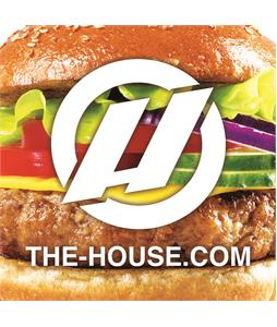 House Slap Sticker Cheese Burger 3 x 3in