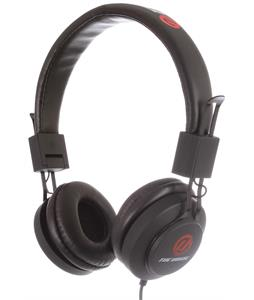 House Crave Headphones Black/Red/White