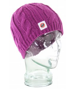 House Her Beanie Purple