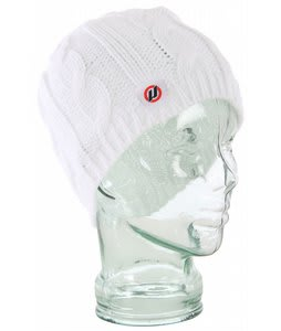 House Her Beanie Bright White