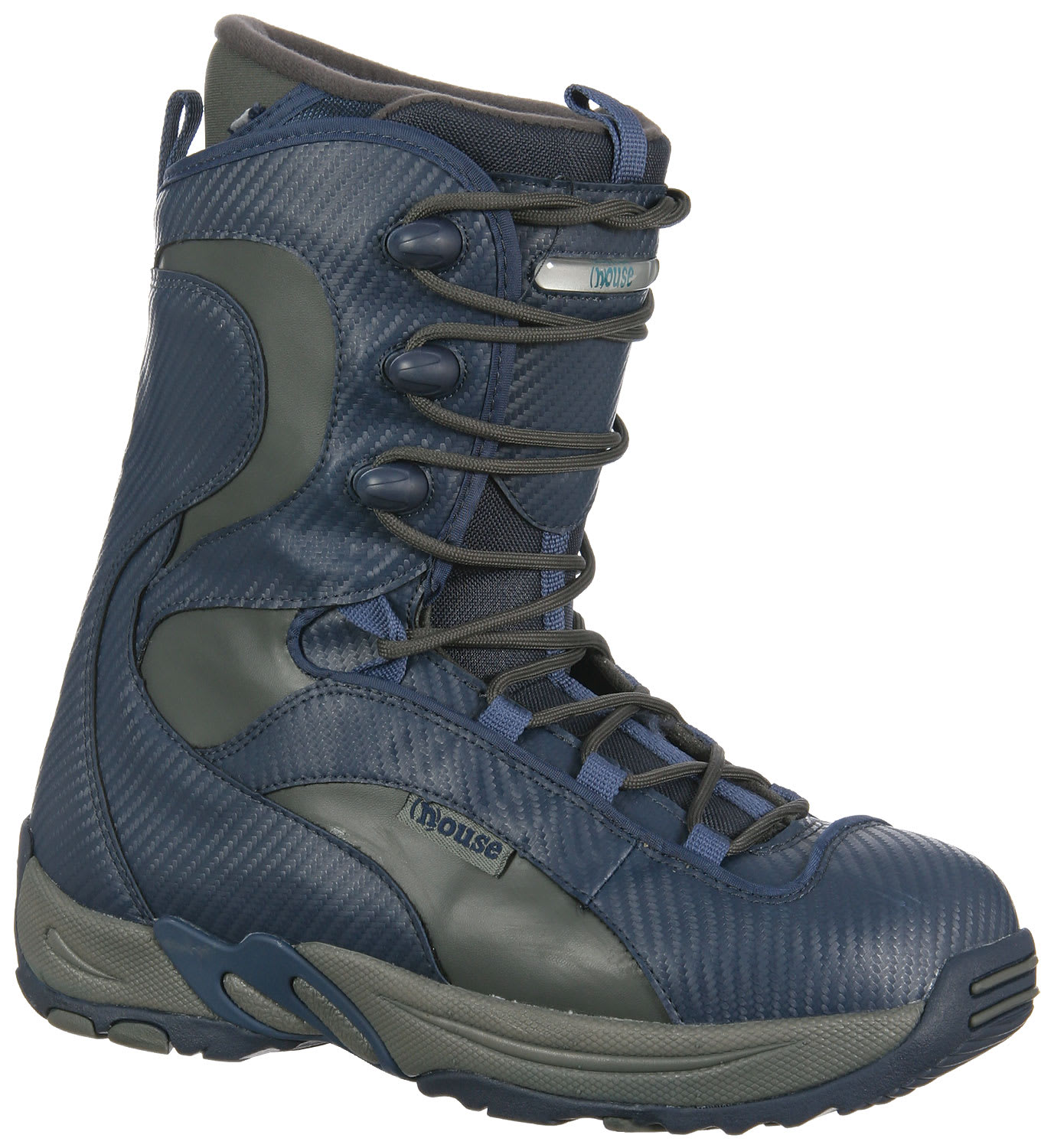 Shop for House Hyland Boots Blue/Grey - Men's